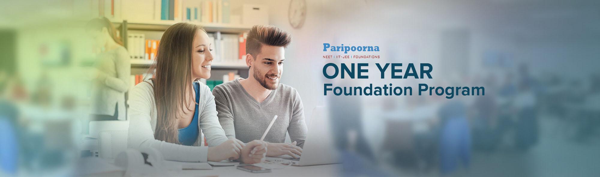 One Year Foundation Program - Class VI